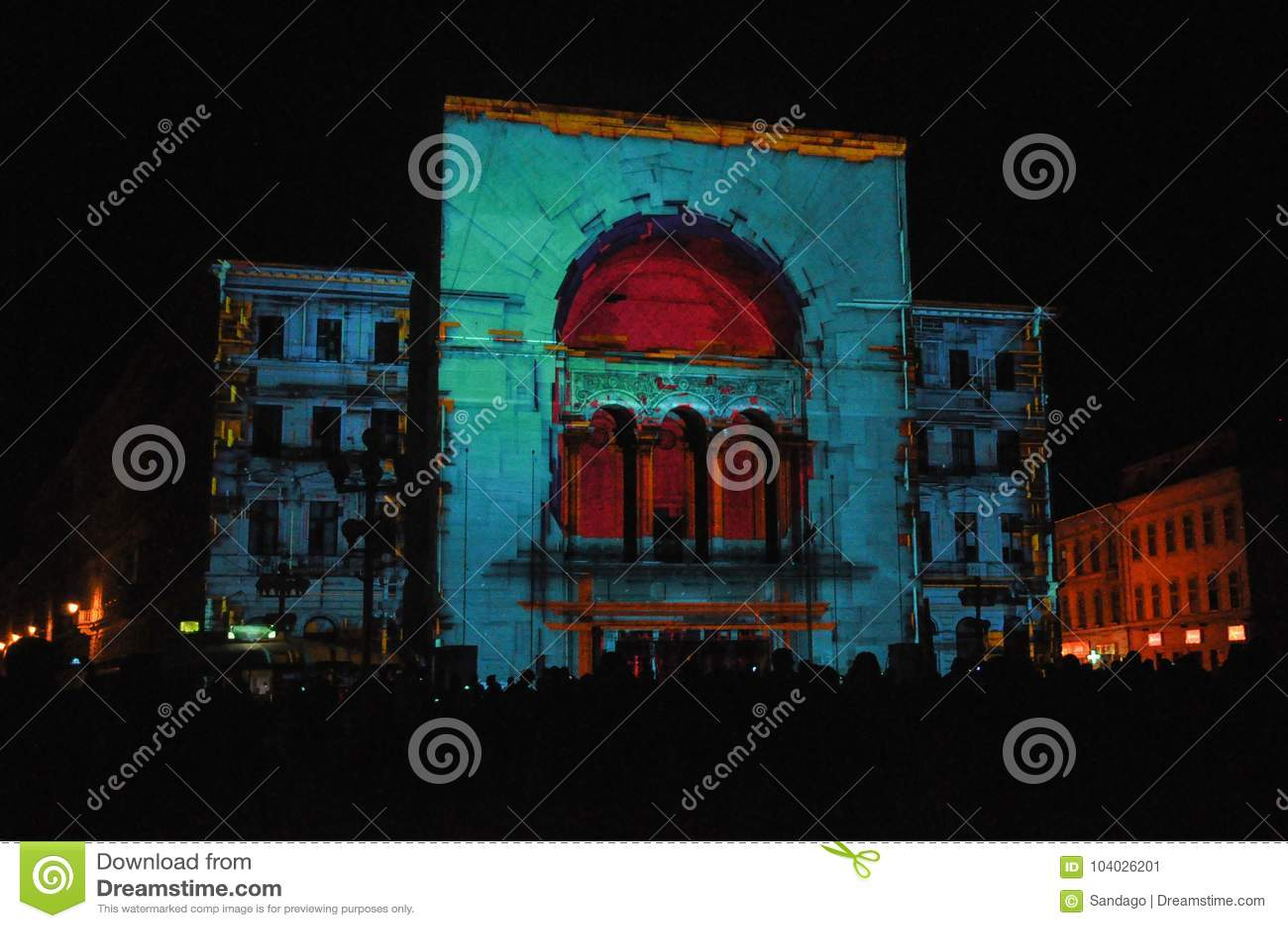 Opera house from Timisoara