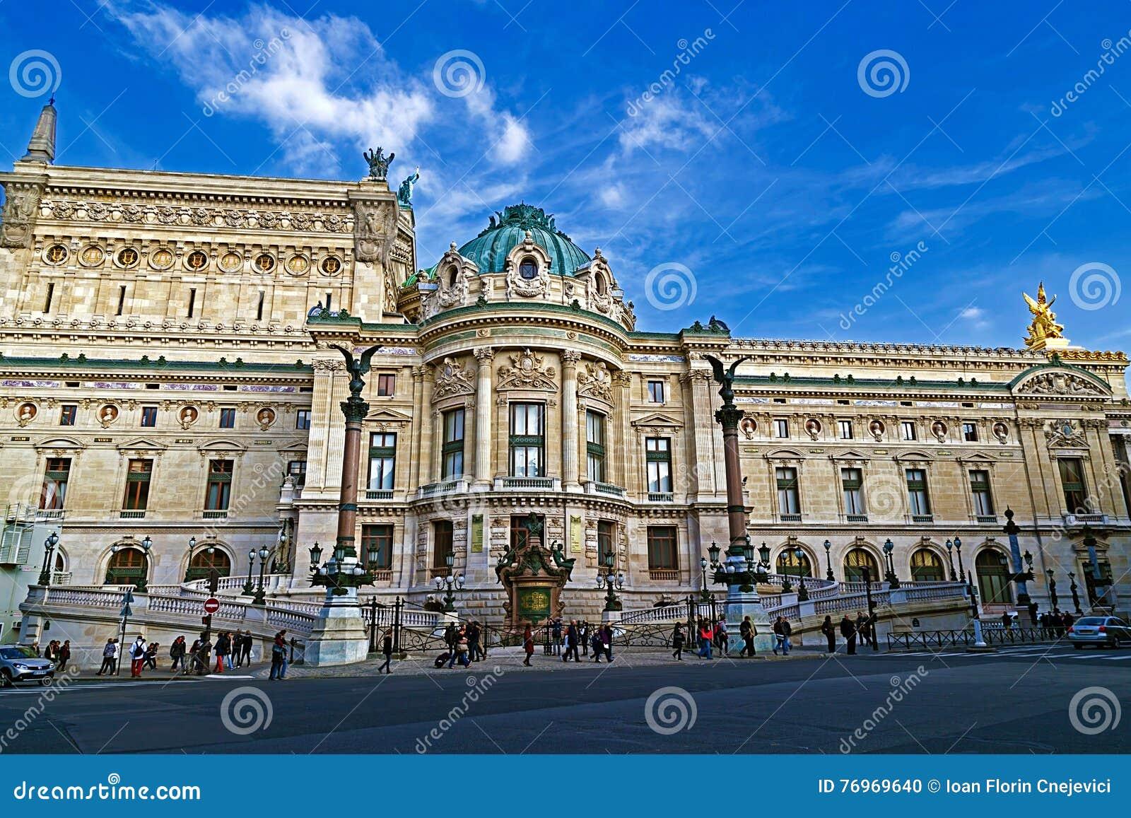 Opera obywatel de Paryż Garnier pałac