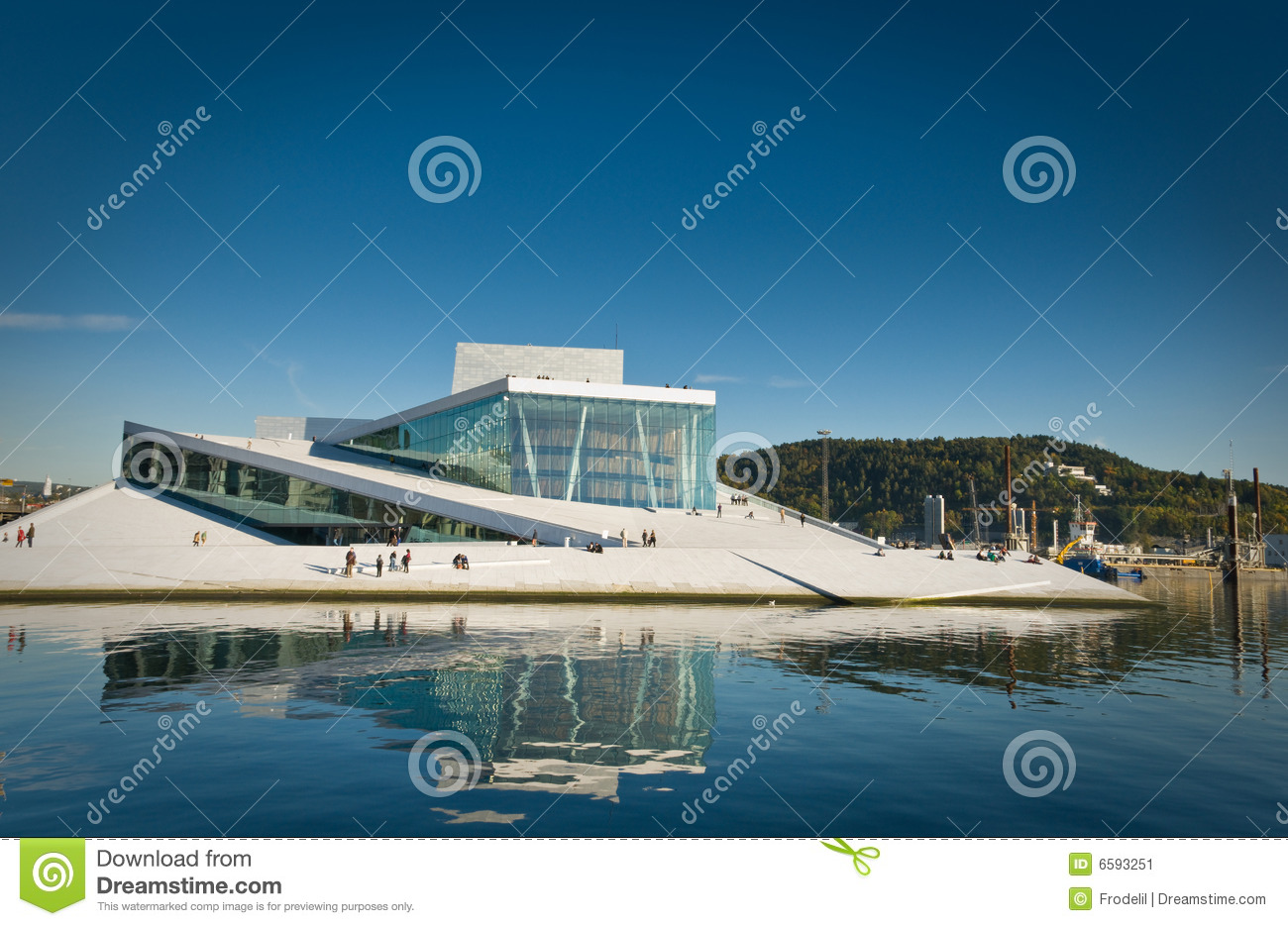 The Opera in Oslo, Norway