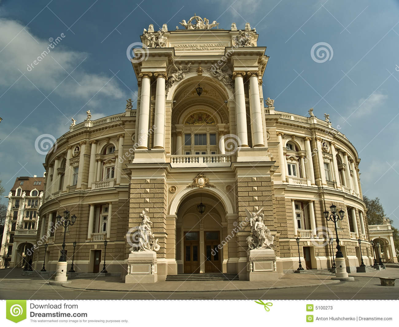 Opera Theatre Building In Odessa Ukraine Stock Photos - Image: 5100273