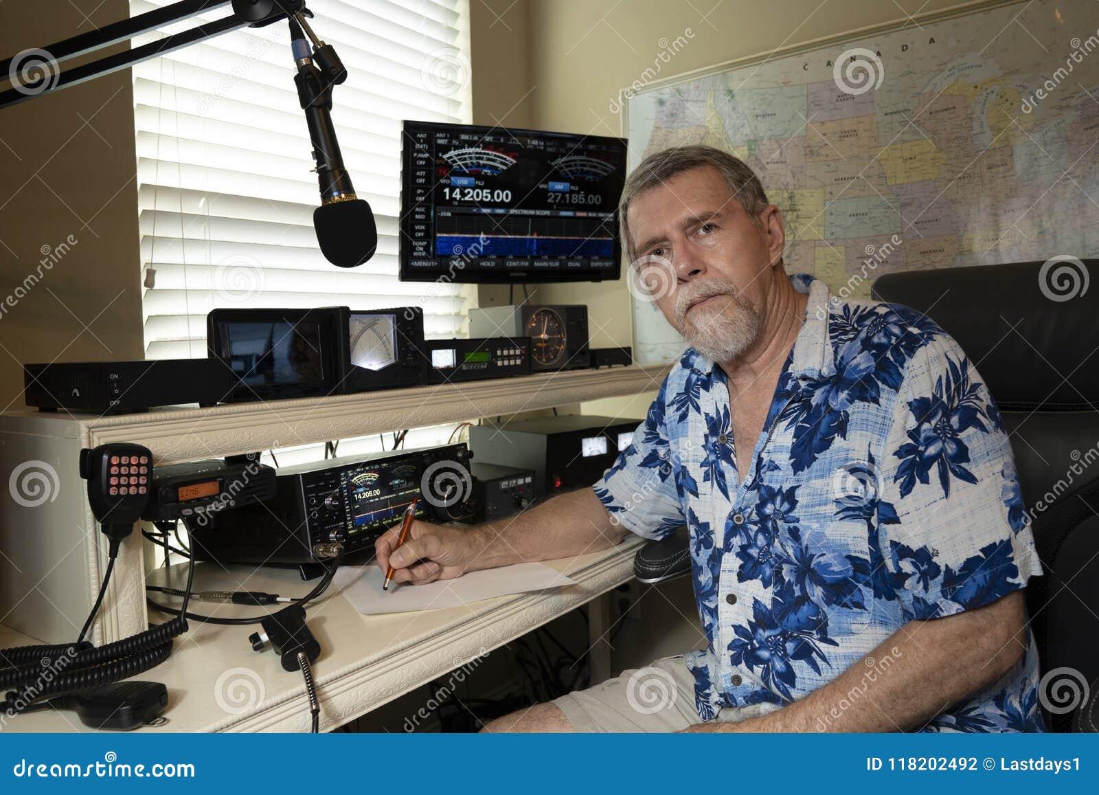 Operador de rádio amador