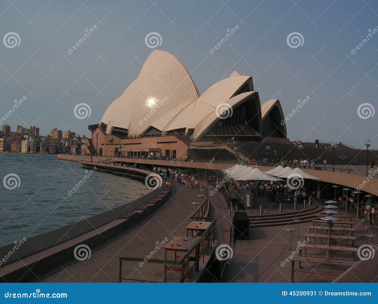 Operahousen i Sydney är den berömda världen