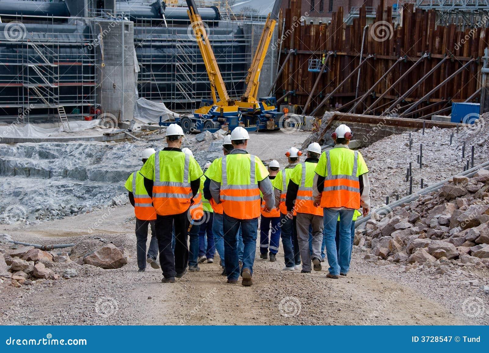 Operai di costruzione