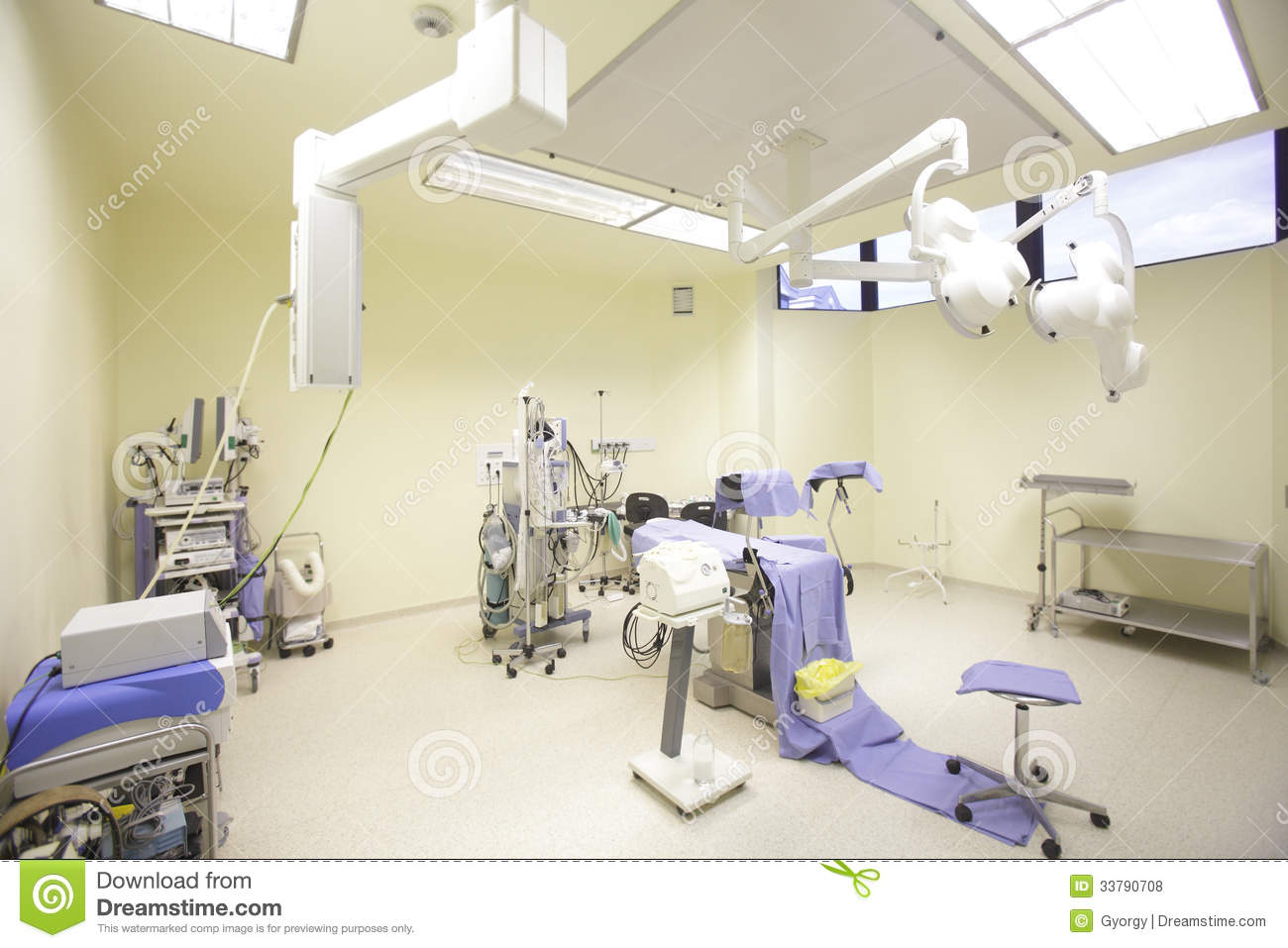 Hospital operating room - Operating Room Royalty Free Stock Photos