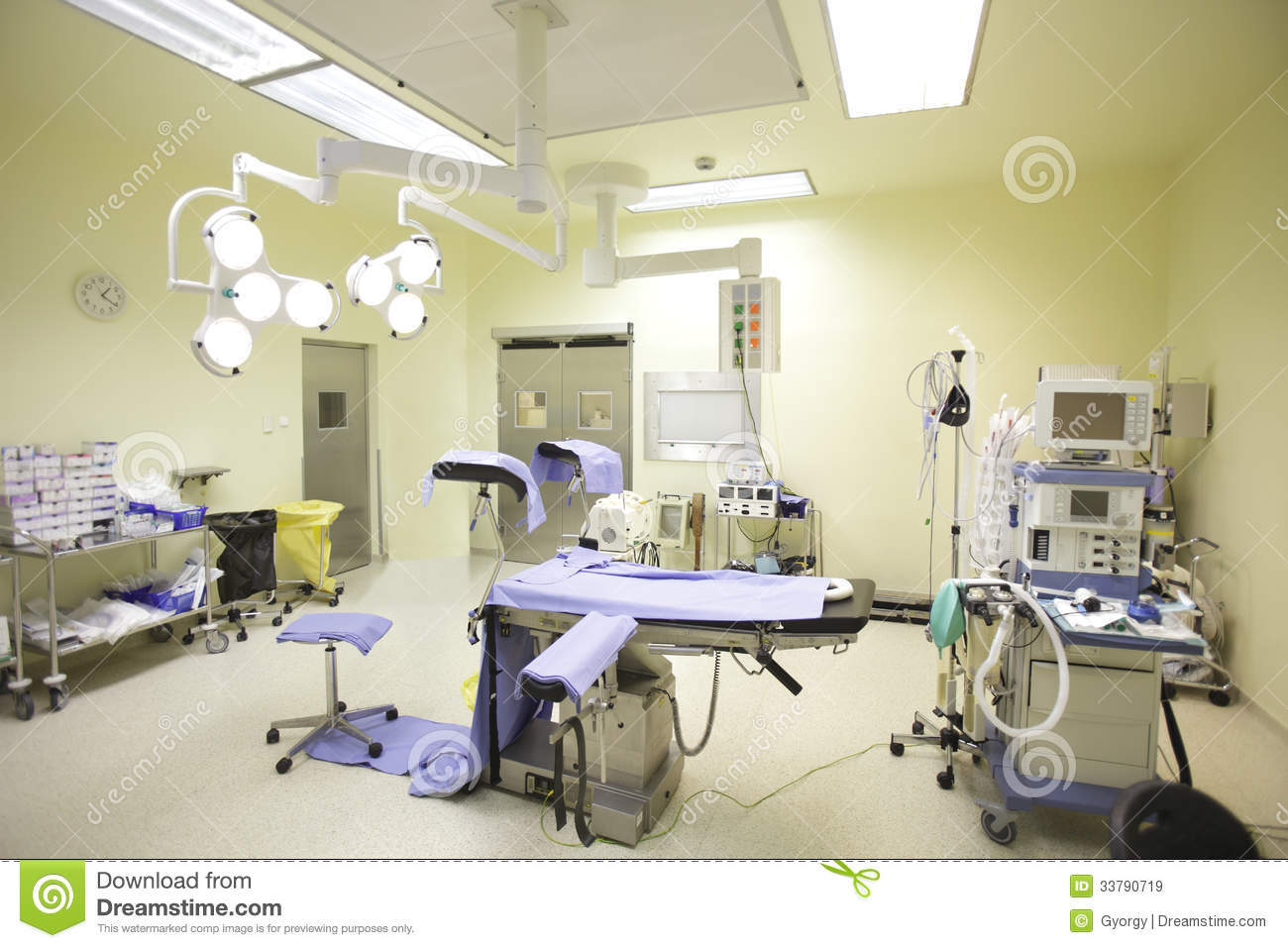 Hospital operating room - Operating Room Royalty Free Stock Images