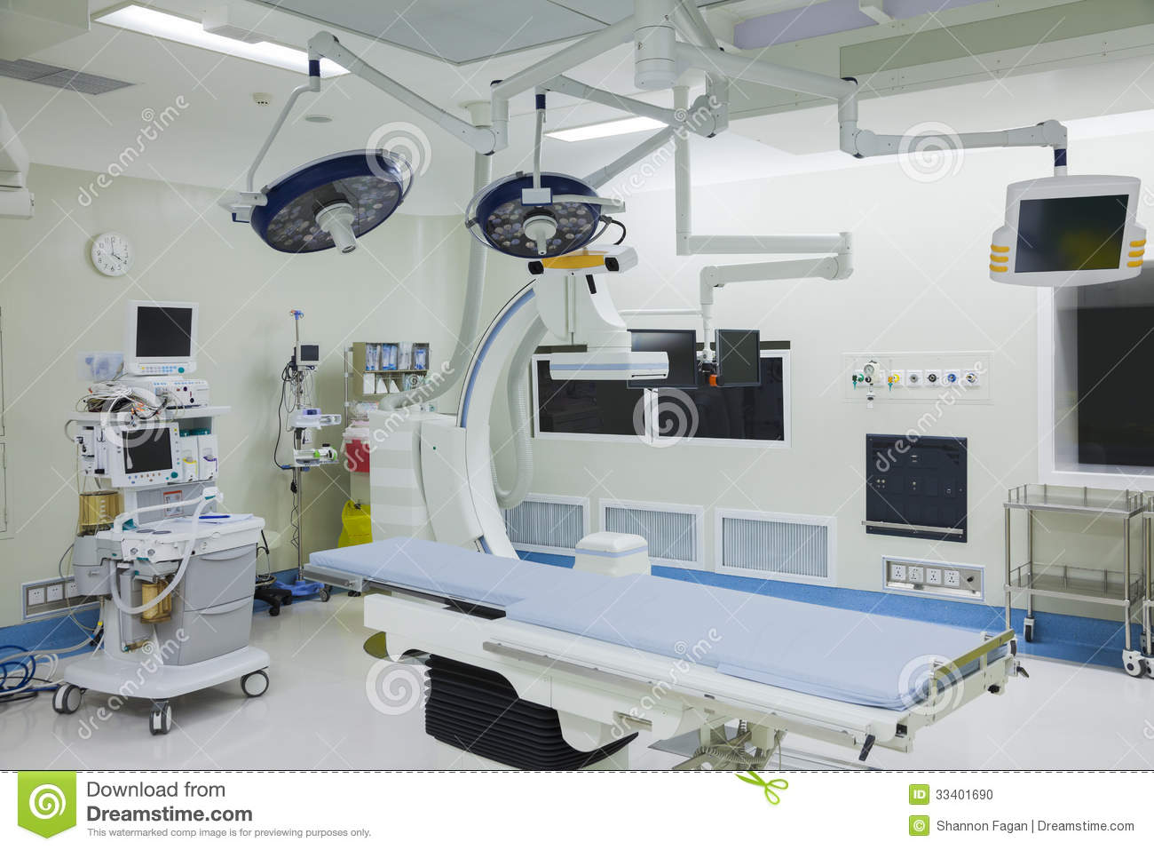 Hospital operating room - Operating Room With Surgical Equipment Hospital Beijing China Stock Photo