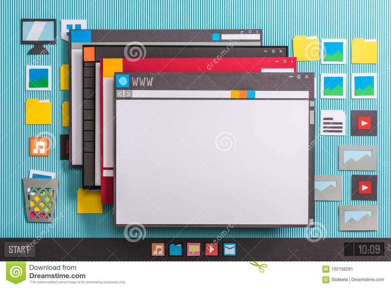 Multiple windows stock image  Image of open, collage - 102156281