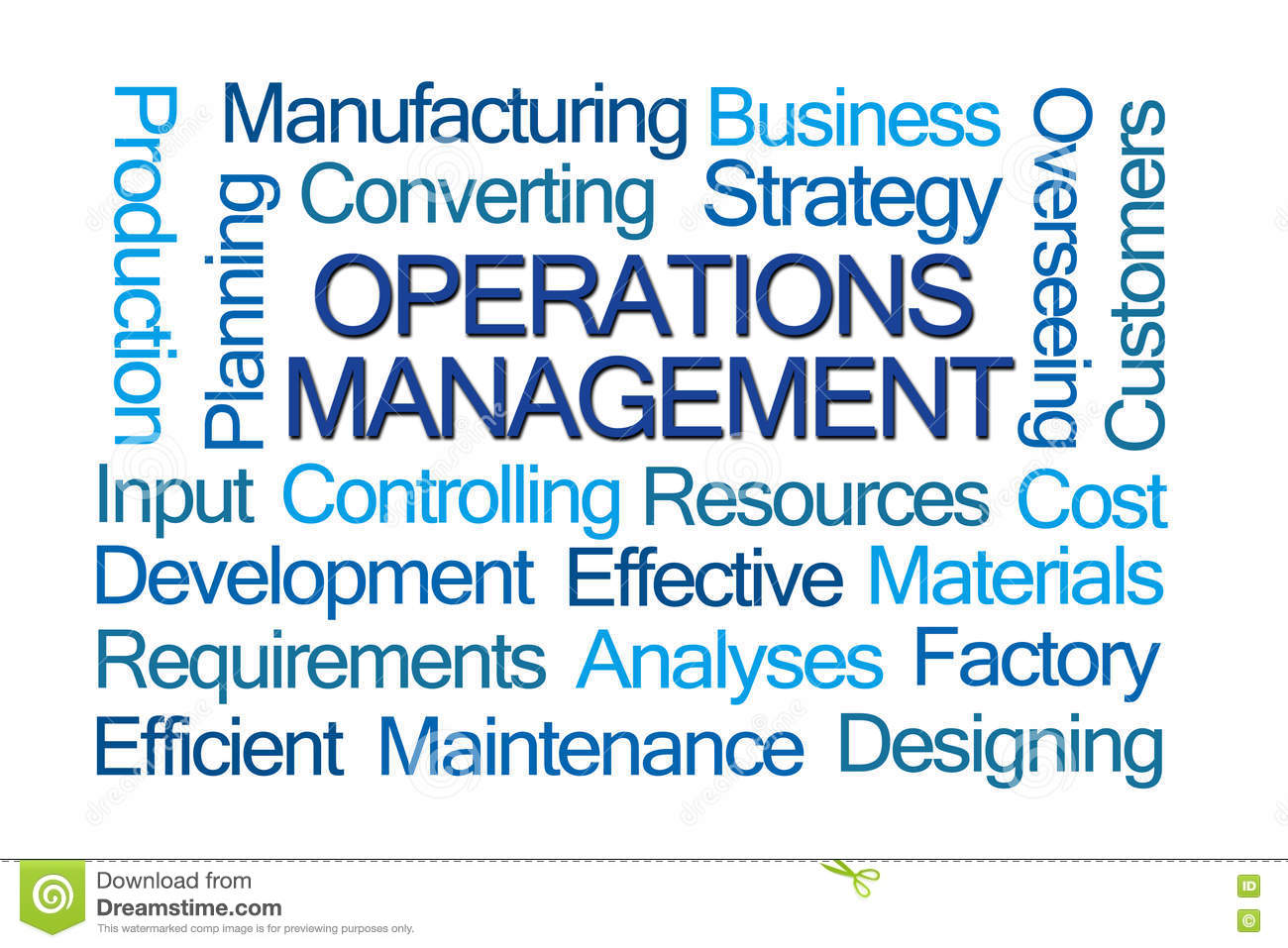 operations in management Whether it is tangible or intangible production items the operations management book will guide you through concepts such as supply chain management to lean, and.