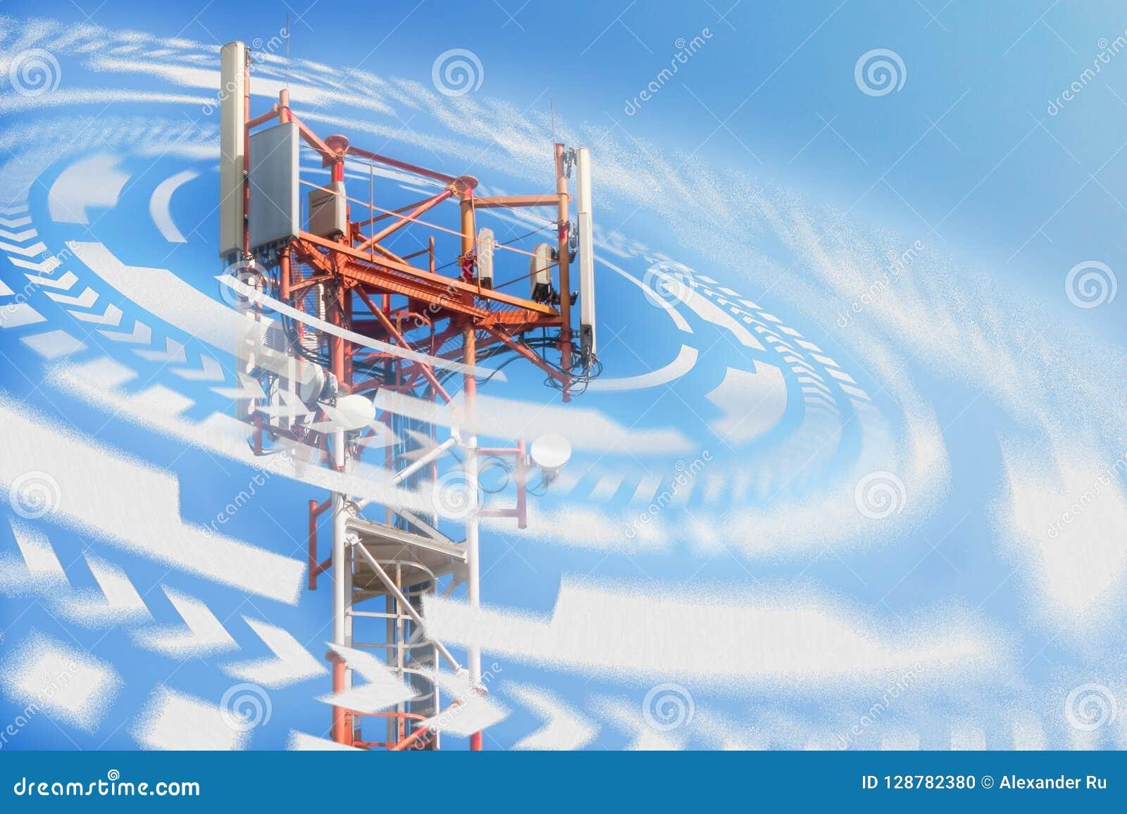 Operatore di rete della stazione base 5G 4G, tecnologie del cellulare 3G