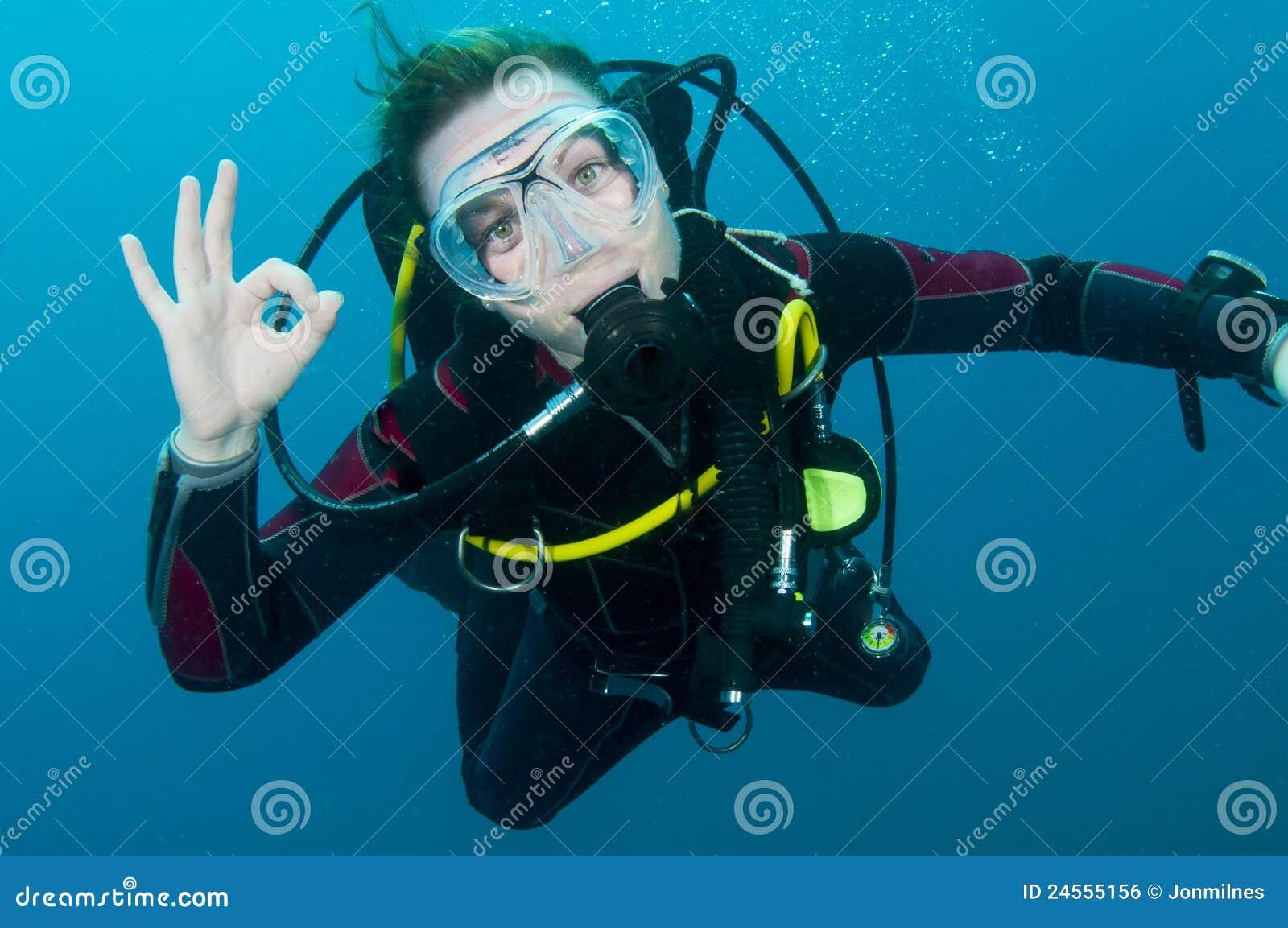 Operatore subacqueo di scuba
