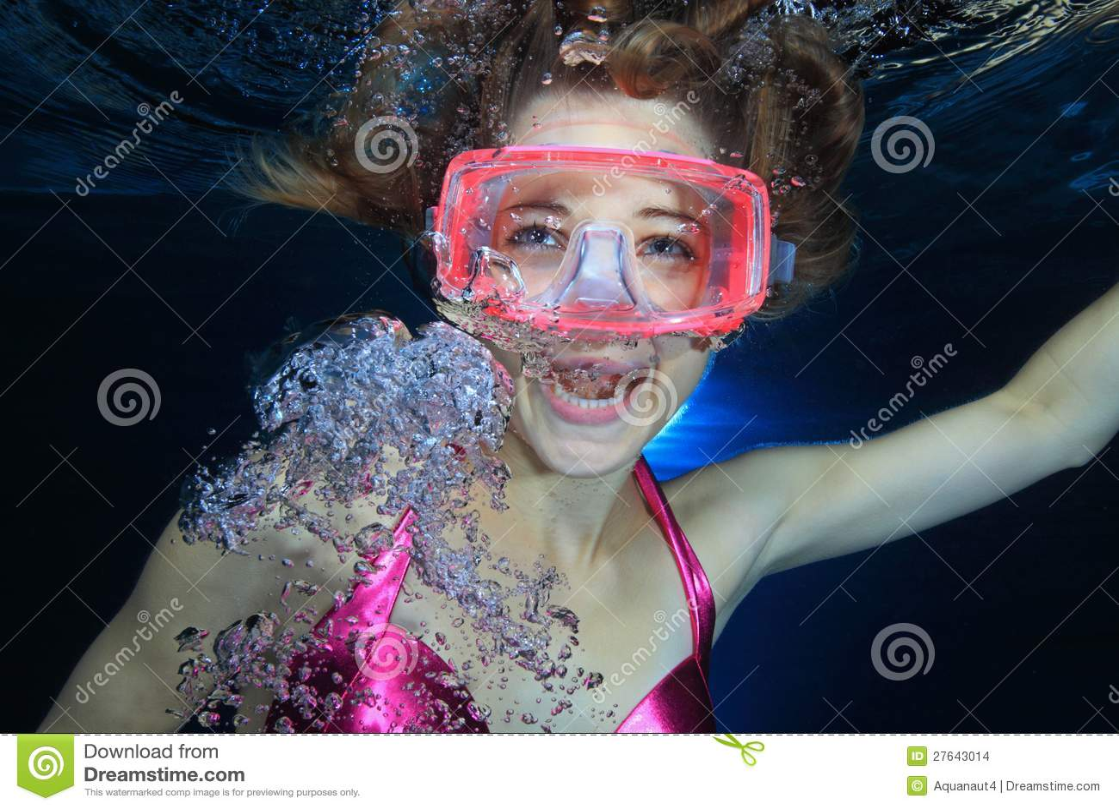 Operatore subacqueo femminile