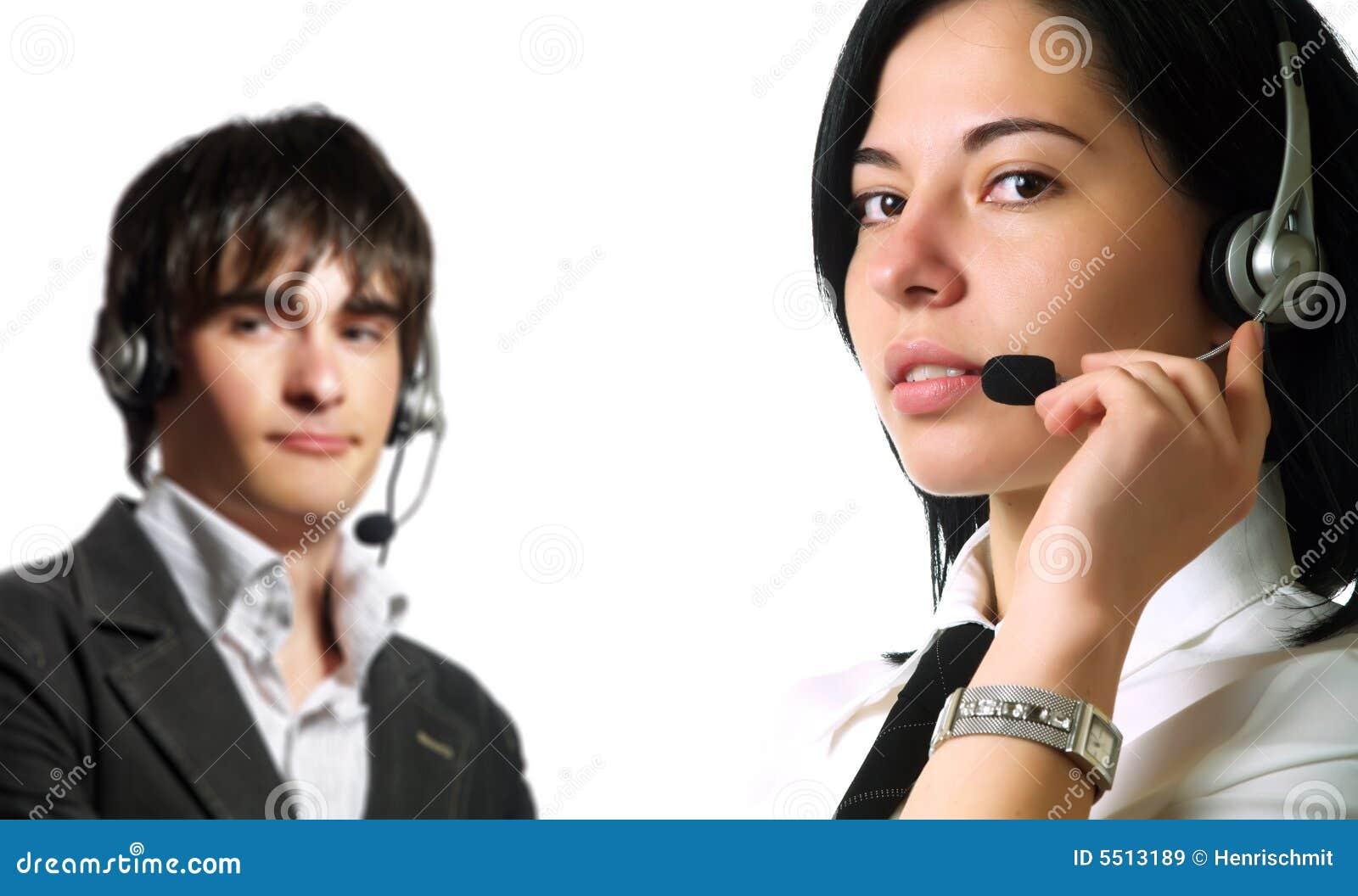 Operatori attraenti della call center