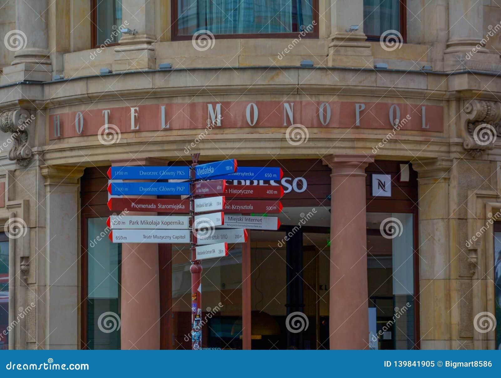Opernhaus in Breslau Polen