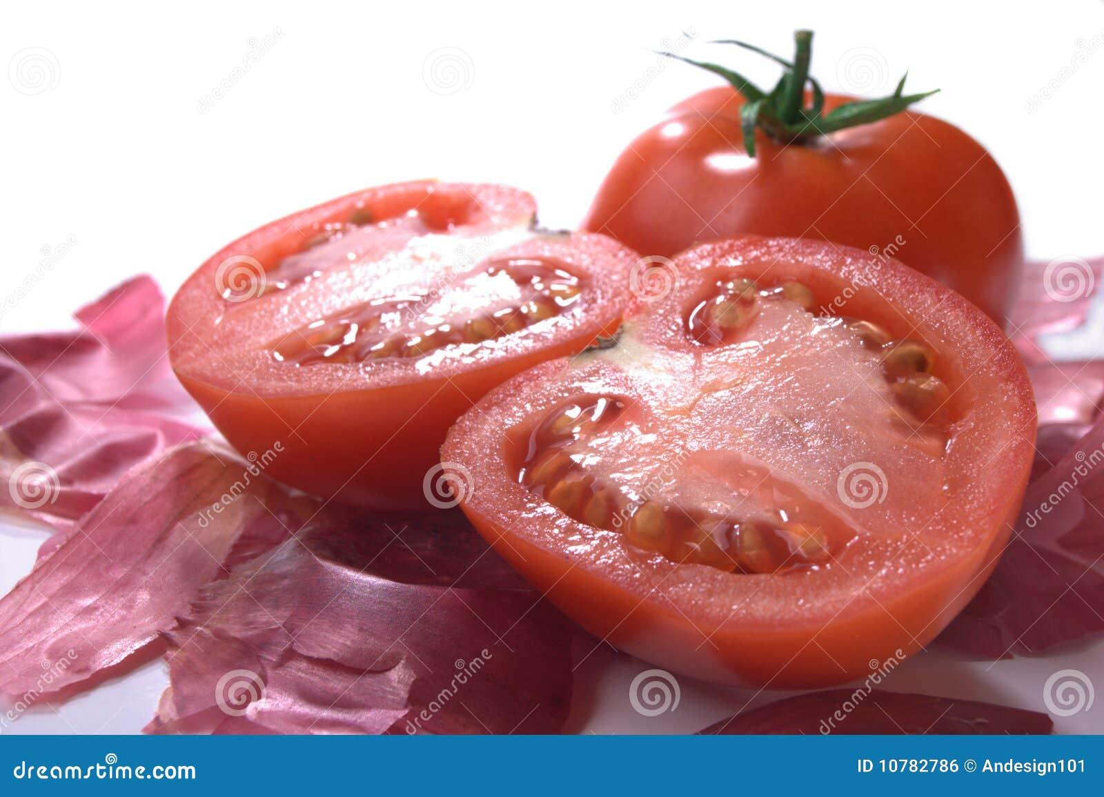 Opgemaakte tomaten