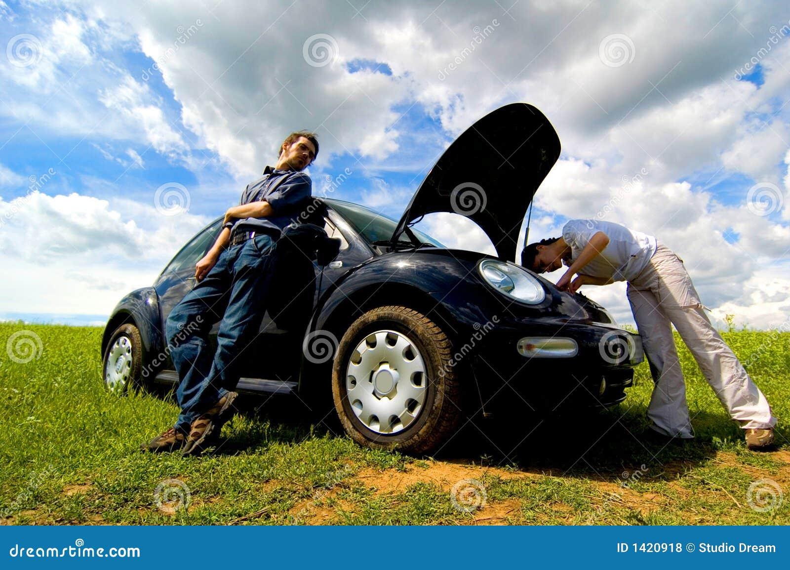 Opgesplitste Auto