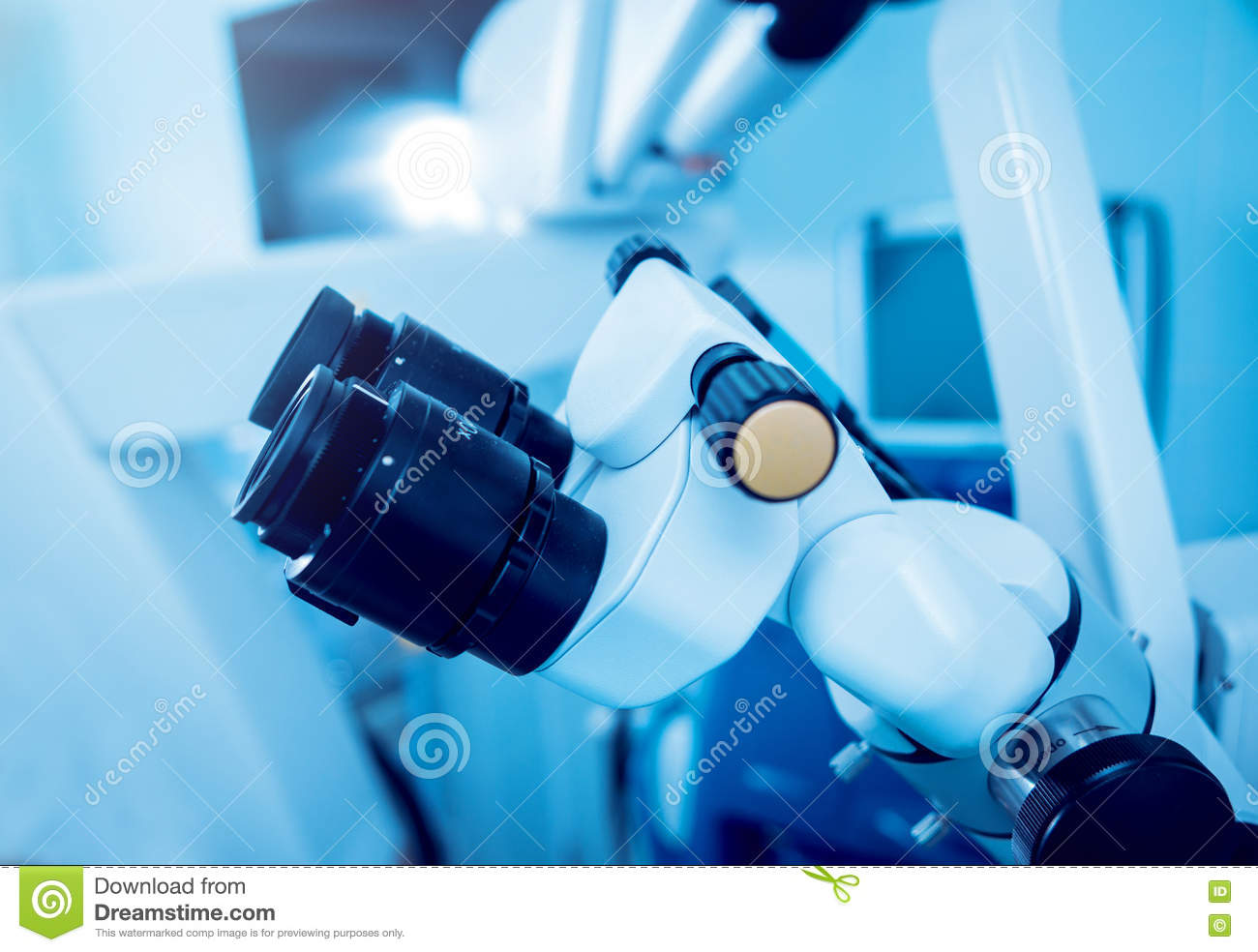 Ophthalmic Equipment  Medical Stock Photo - Image of cataract