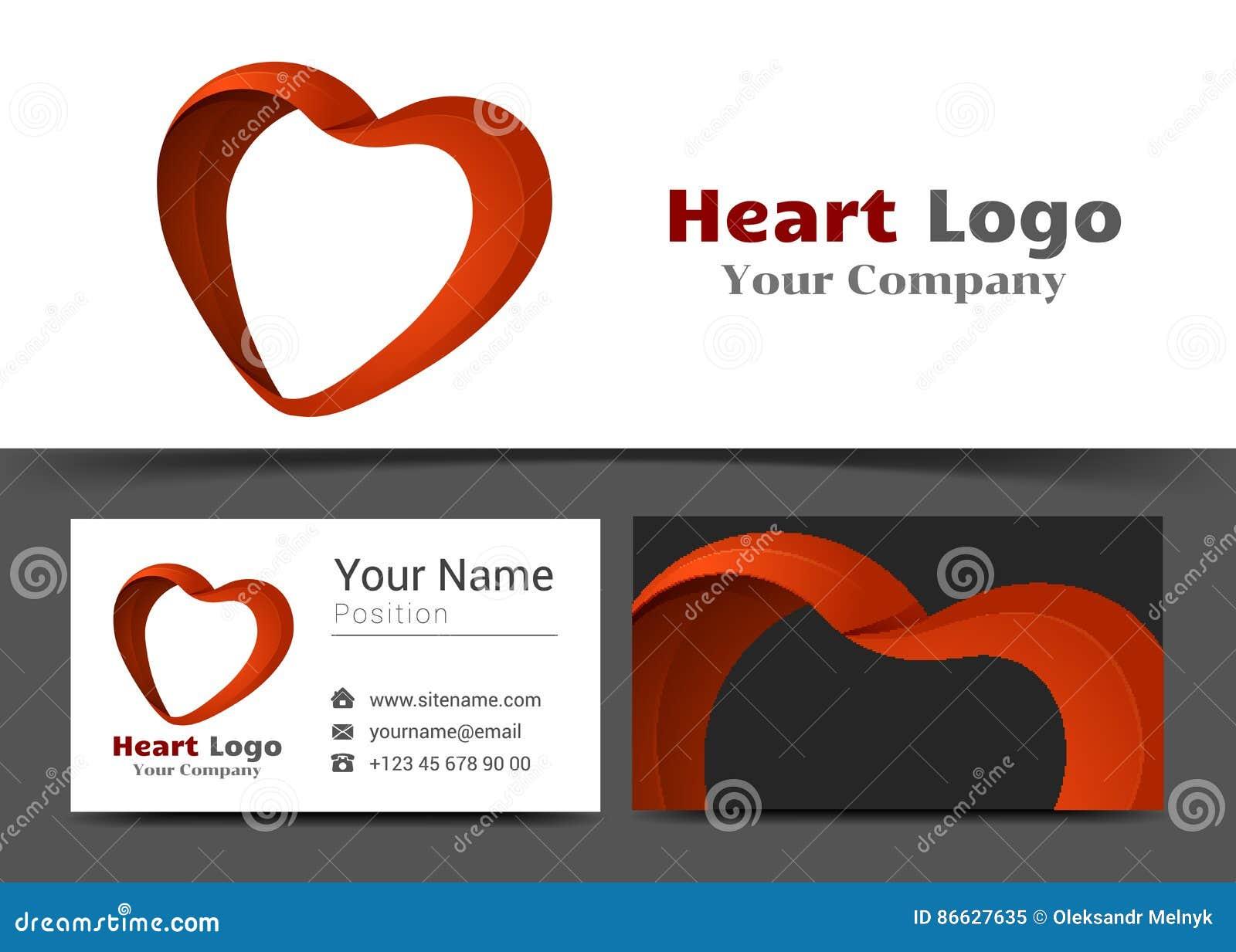 Opieka Zdrowotna Korporacyjny logo i wizytówka Szyldowy szablon