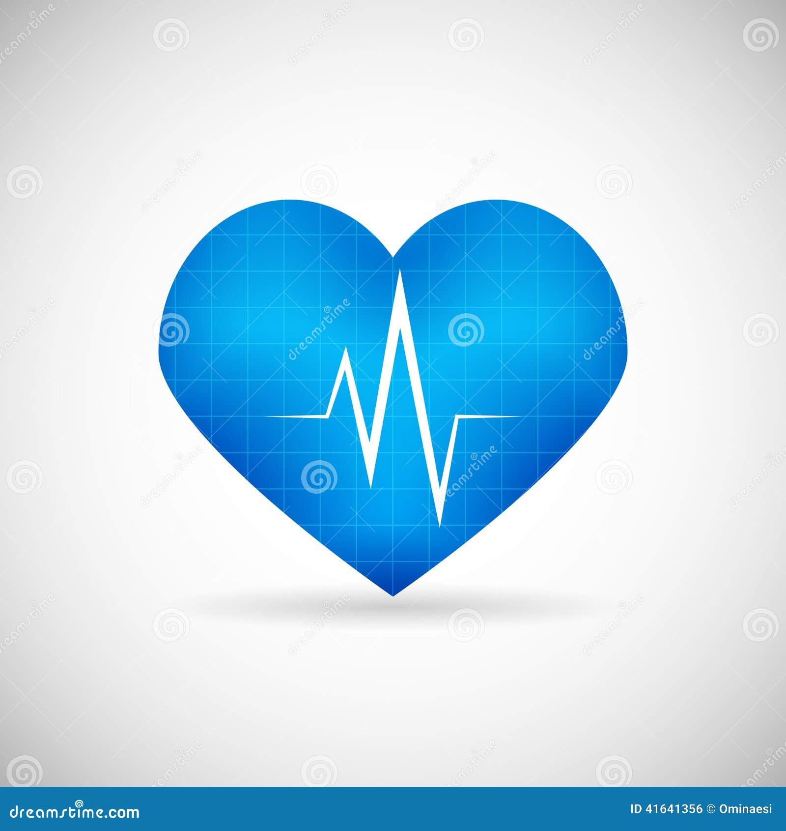 Opieki zdrowotnej i opieki medycznej symbolu Kierowego rytmu tempo