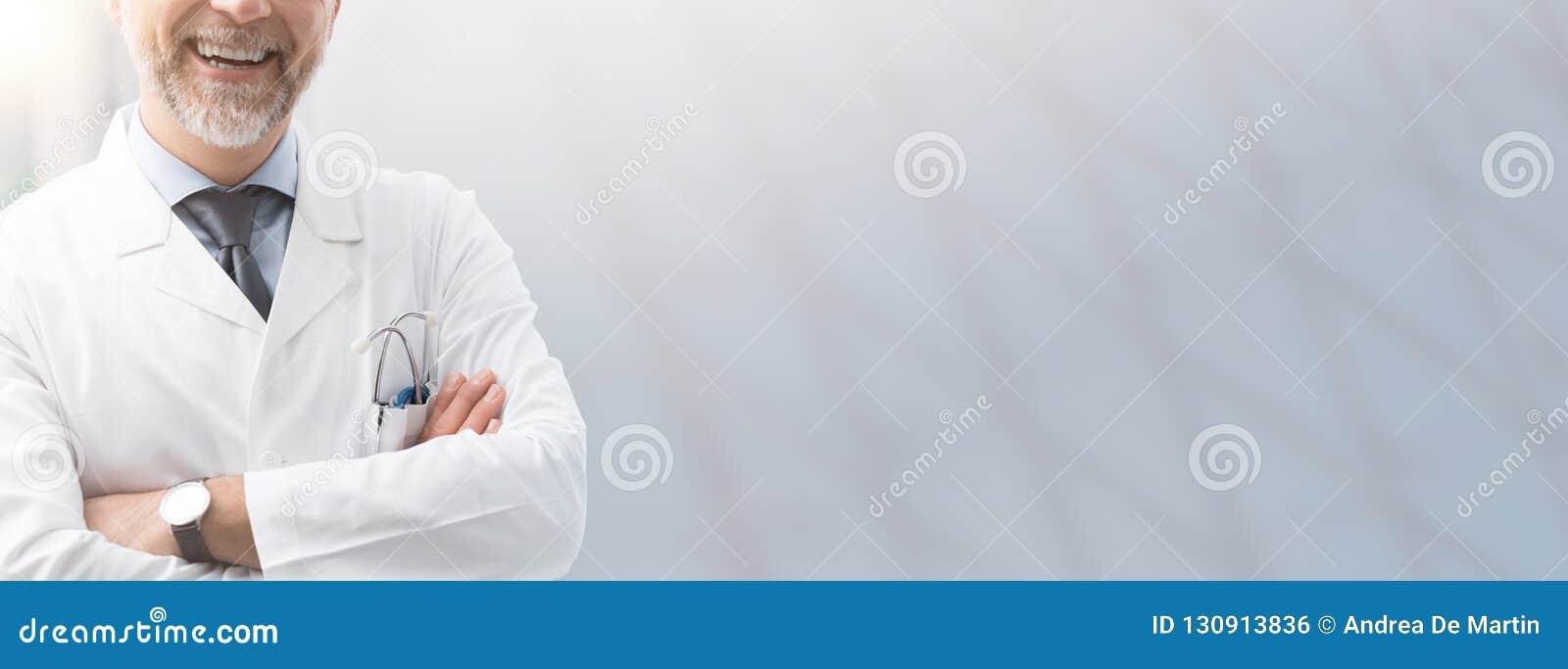Opieki zdrowotnej i ubezpieczenia zdrowotnego sztandar