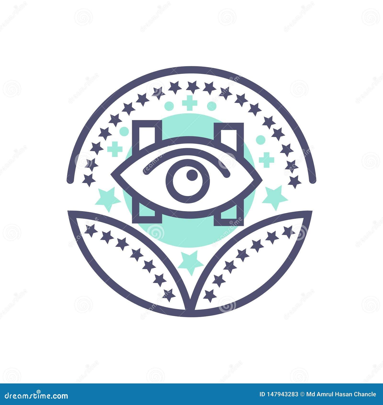 Opieki zdrowotnej lub medycznej nagrody ikony opieki zdrowotnej wektorowy znak