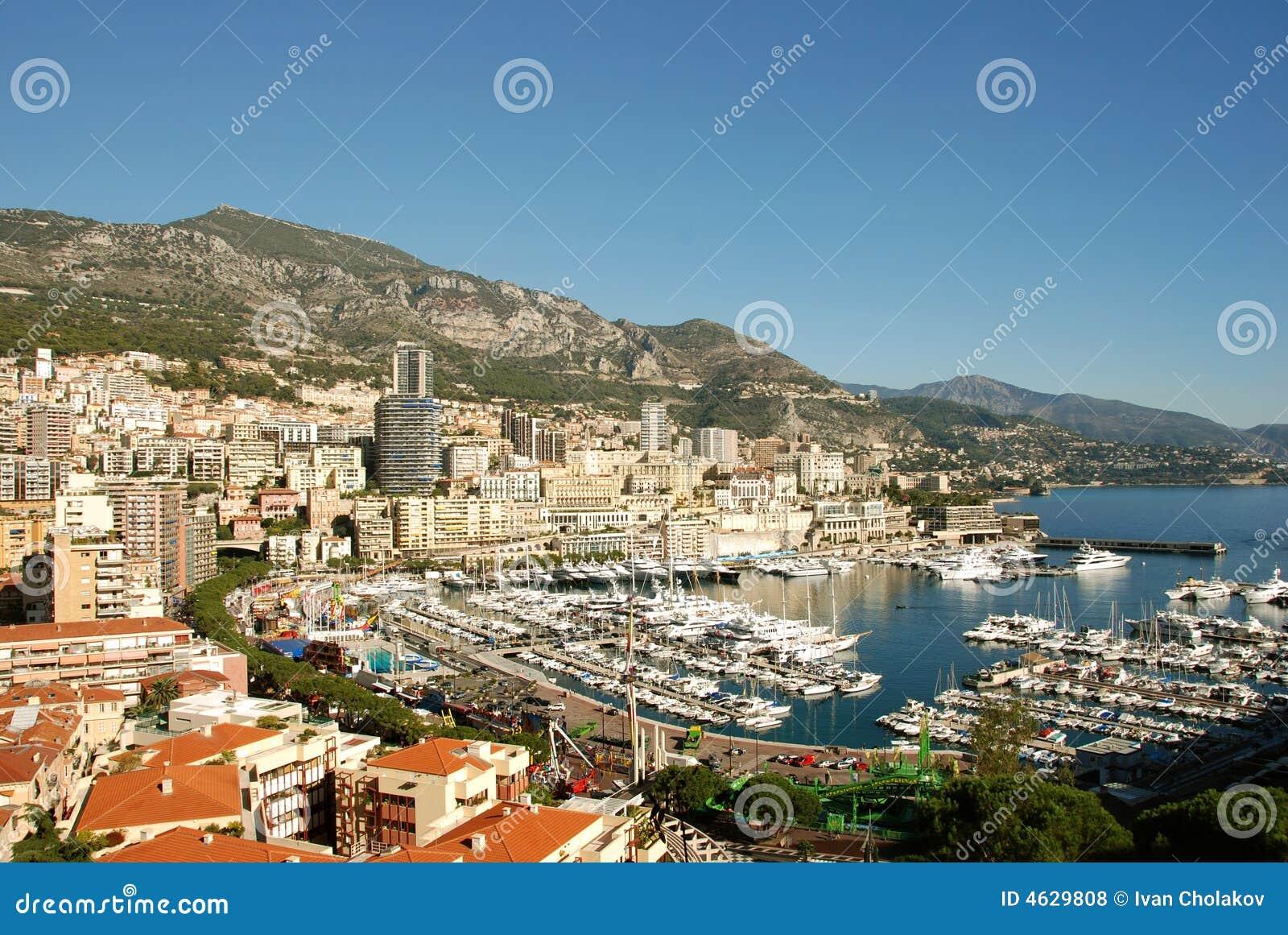 Opinião cénico Monte - Carlo