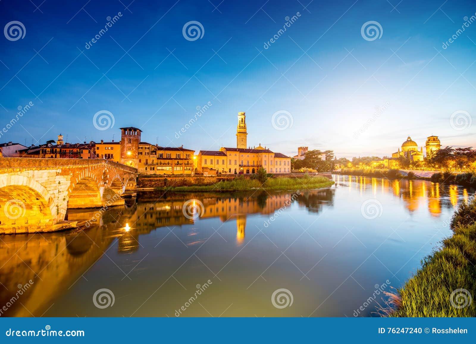 Opinião da arquitetura da cidade de Verona
