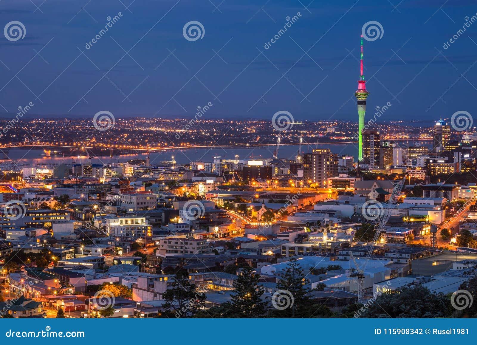 Opinião da cidade de Auckland