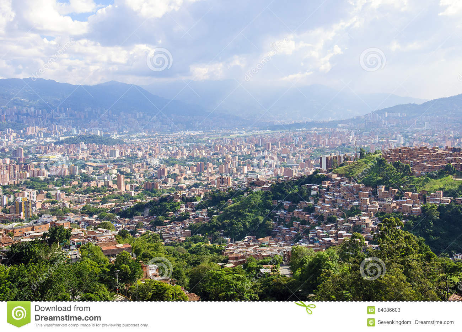 Opinião da cidade de Medellin, Colômbia