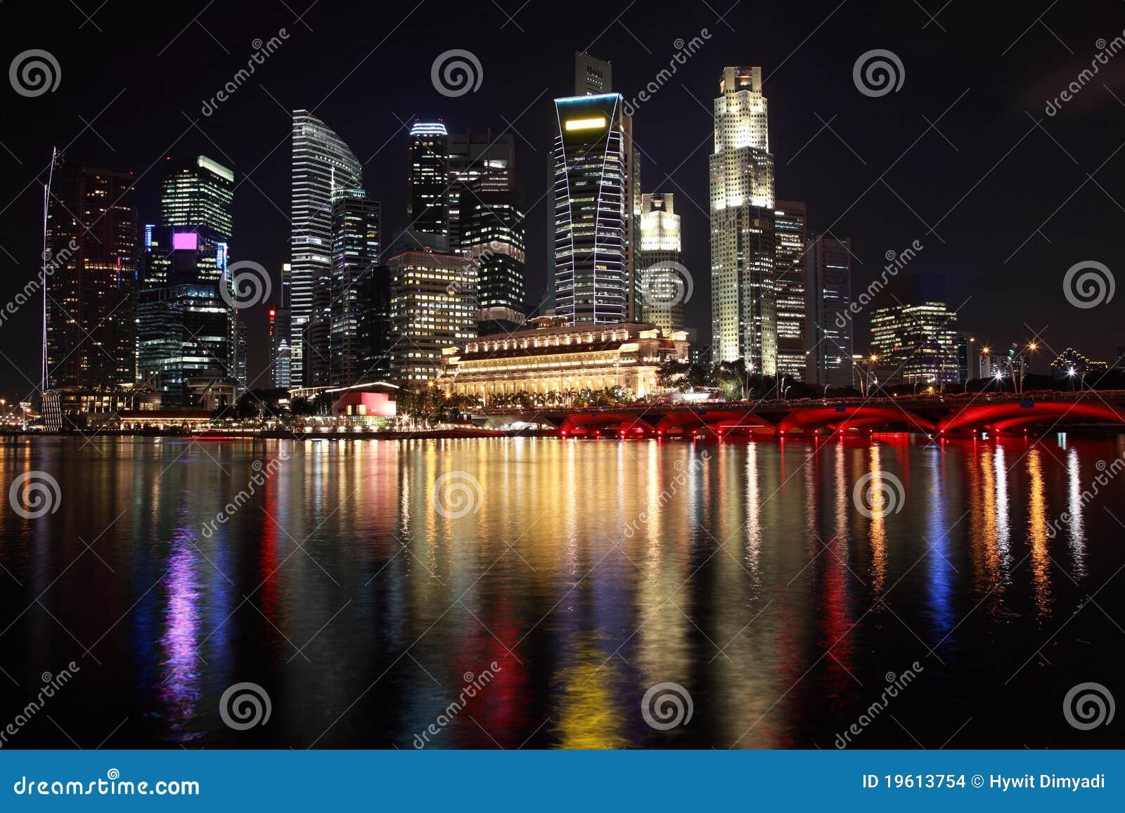 Opinião da noite de Singapore