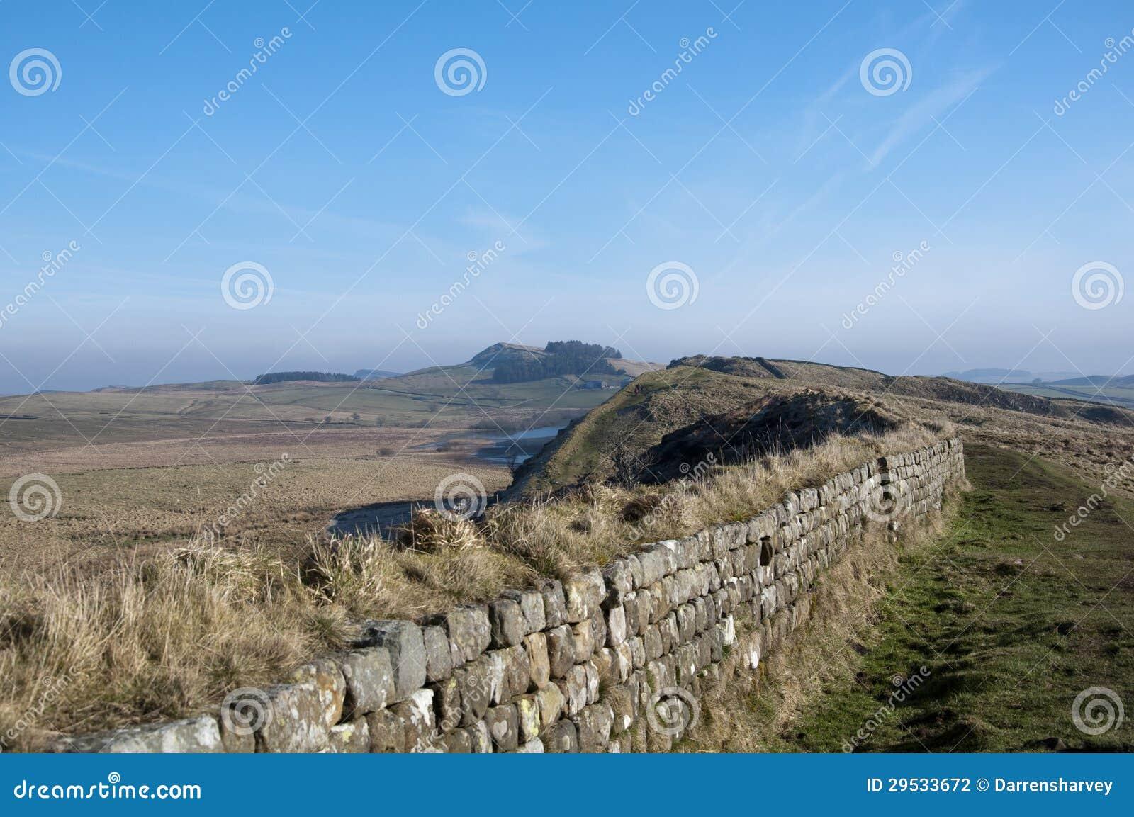 Opinião da parede de Hadrians