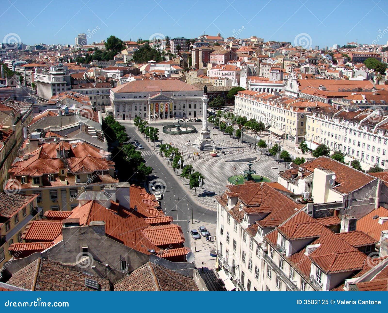 Opinião de Lisboa, o quadrado de Rossio