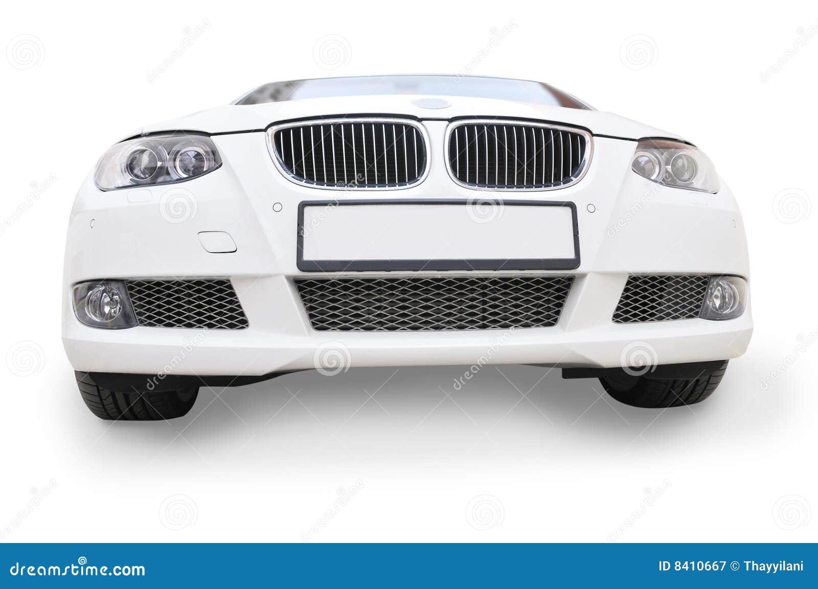 Opiniao Dianteira Do Carro Branco De Bmw Imagem De Stock Imagem De Carro Branco 8410667