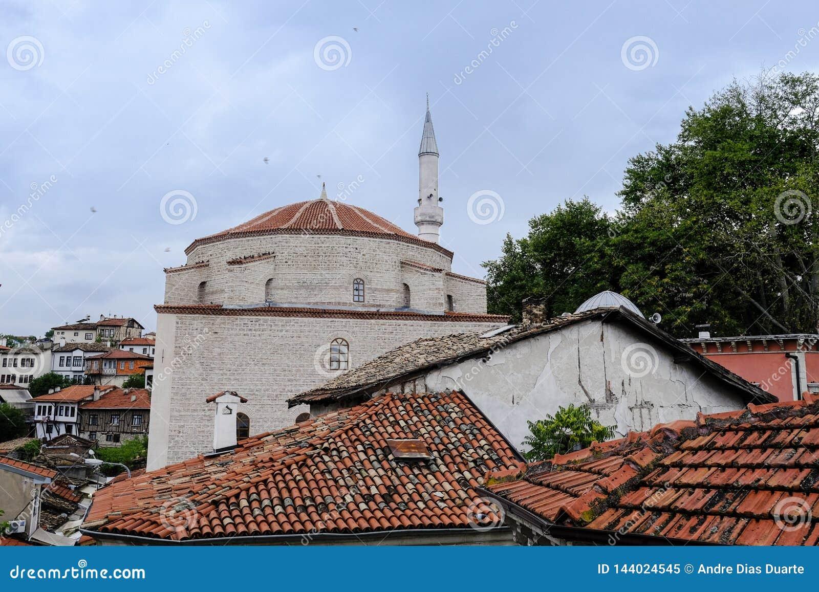 Opinião do telhado de Safranbolu
