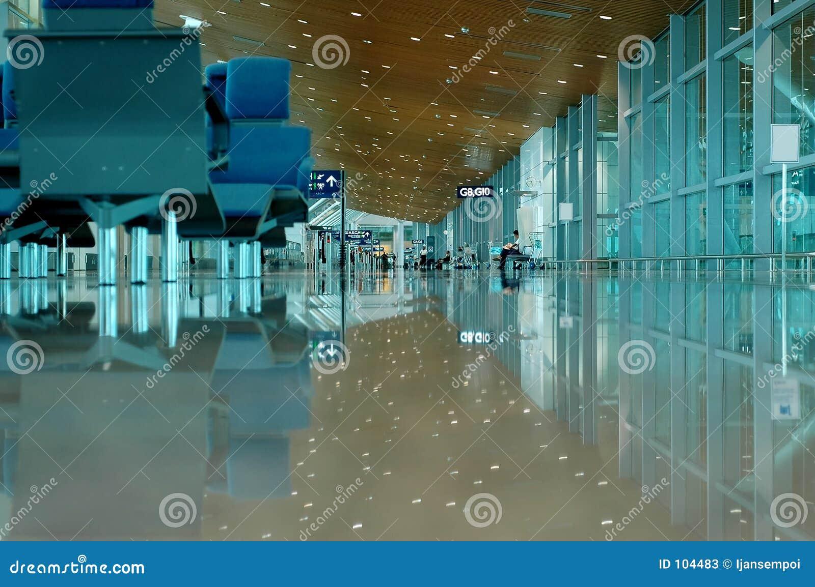 Opinião interna do aeroporto