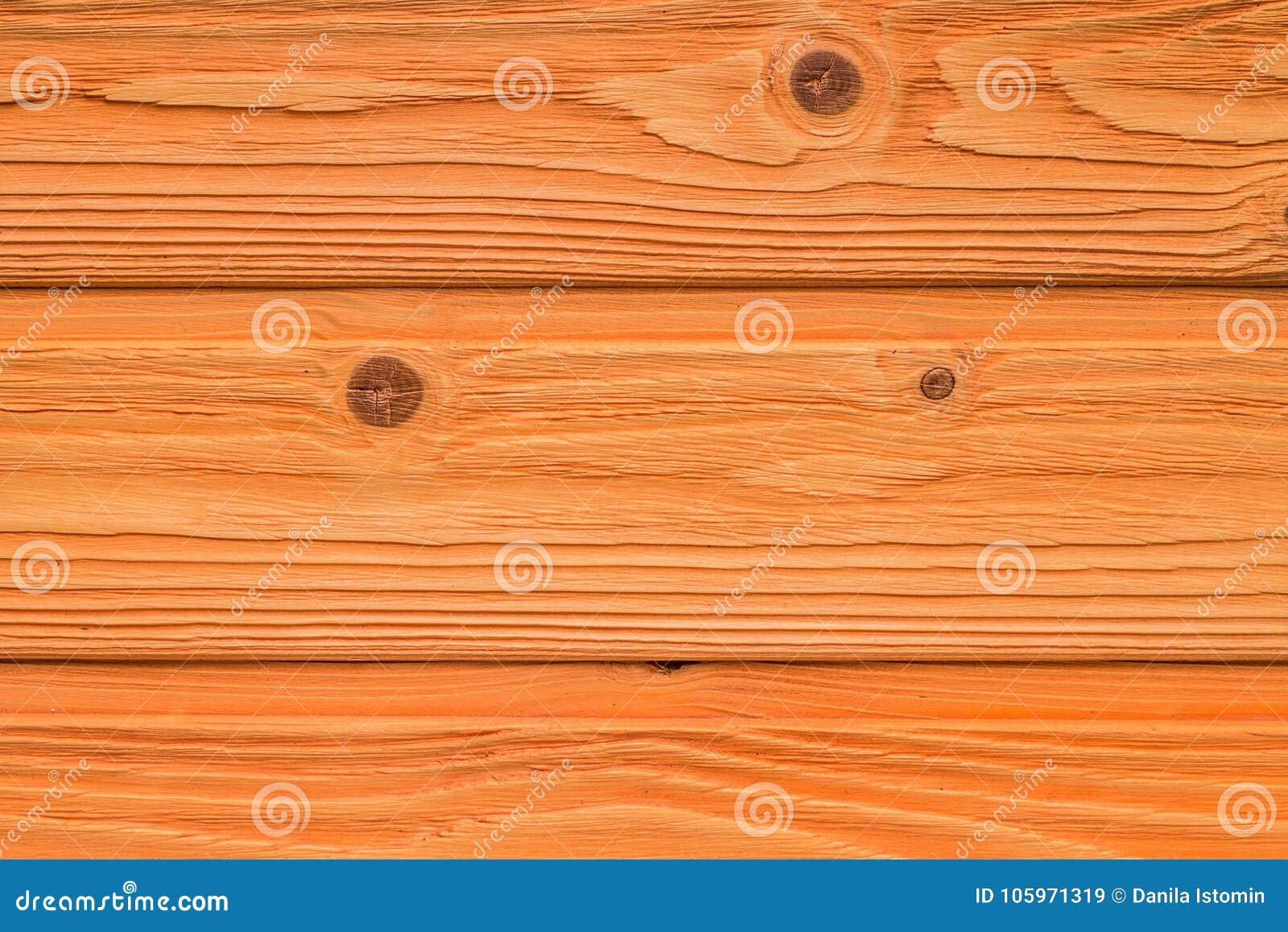 Opinião superior do fundo de madeira velho alaranjado da textura da tabela