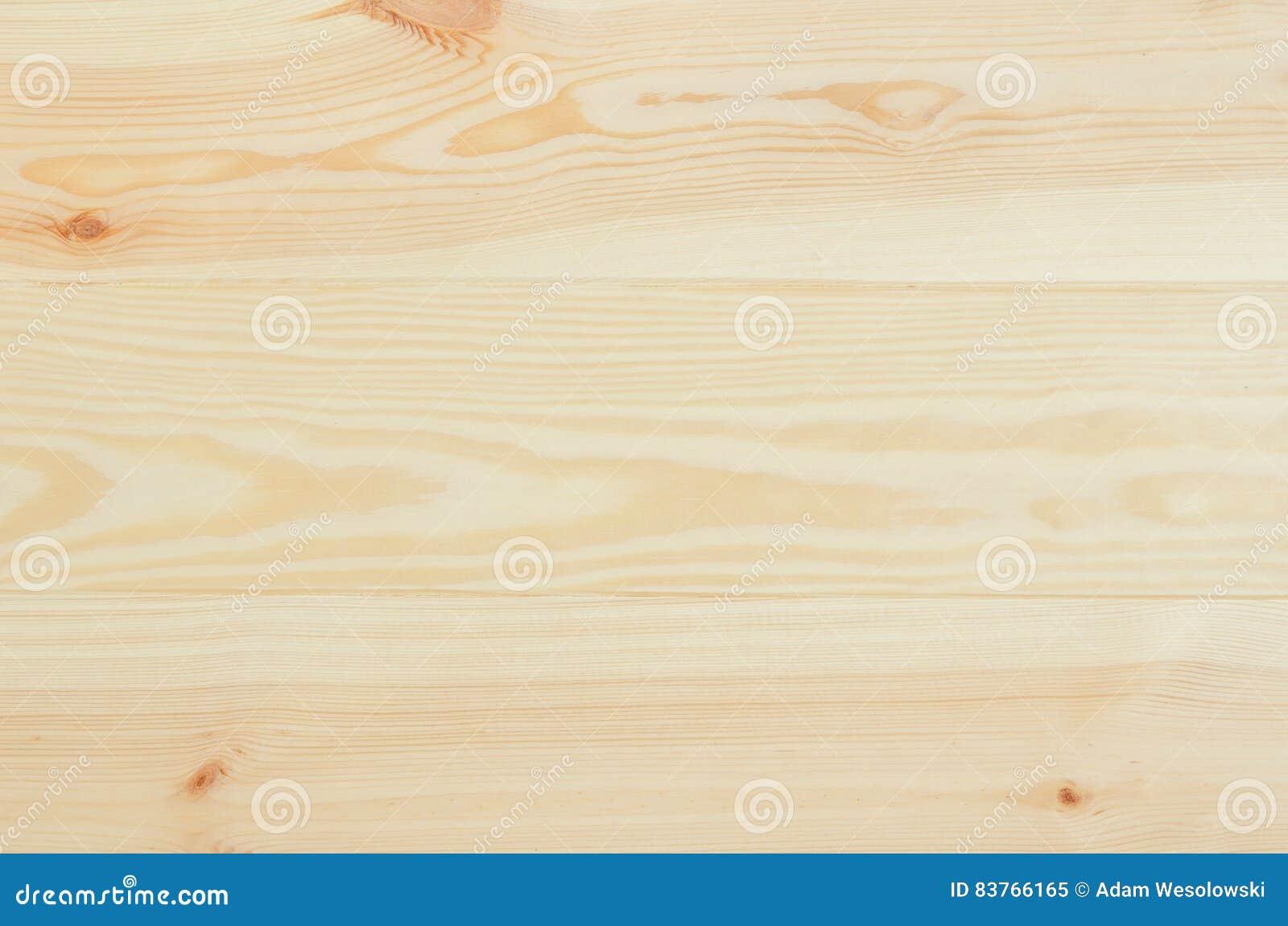 Opinião superior do fundo fresco das pranchas da madeira de pinho