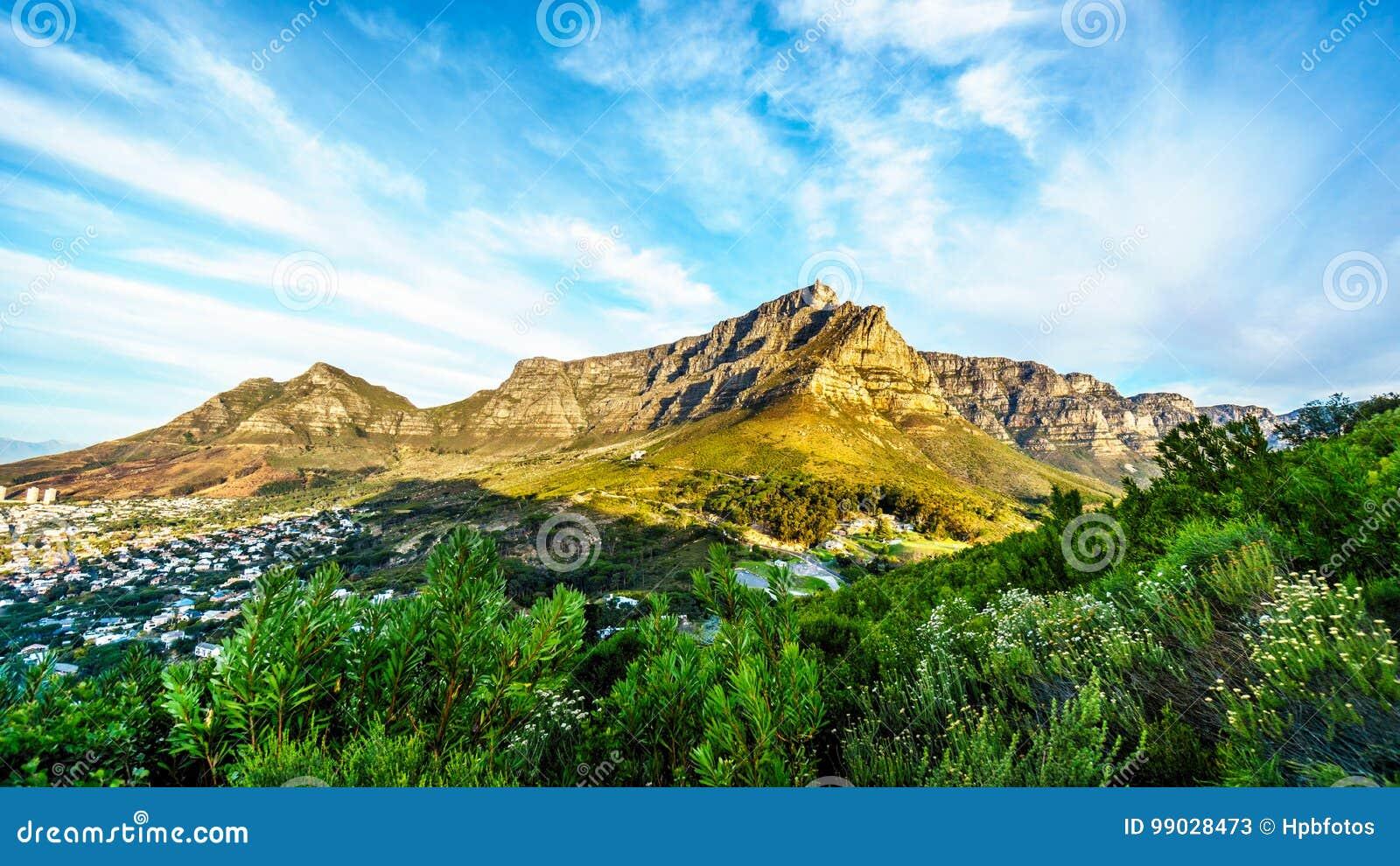 Opinión Cape Town, la montaña de la tabla, el pico de los diablos y los doce apóstoles