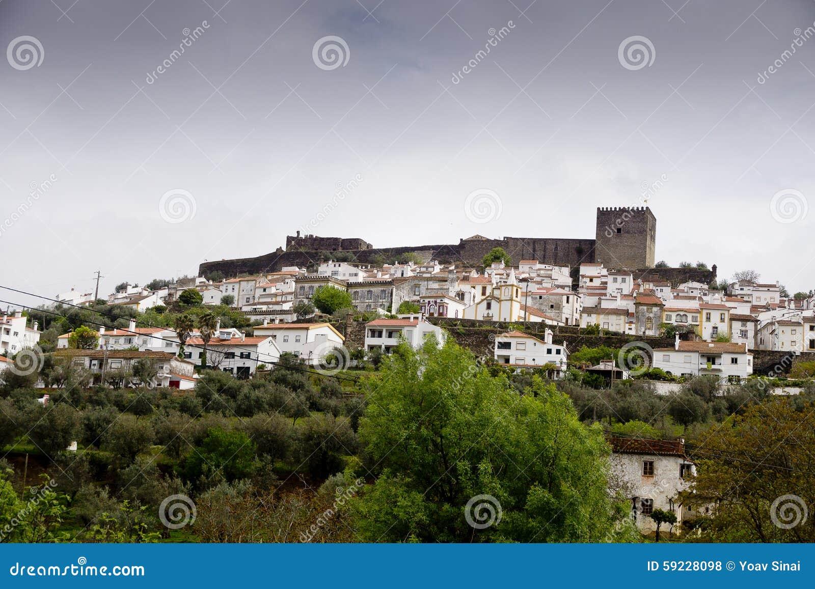 Download Opinión Castelo De Vide Portugal Foto de archivo - Imagen de casas, cityscape: 59228098