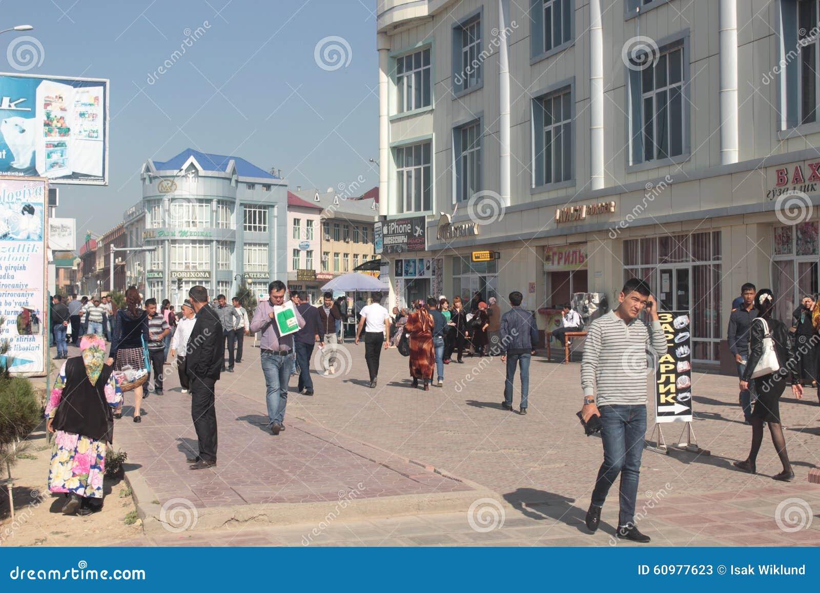 Opinión de la calle de Andijan