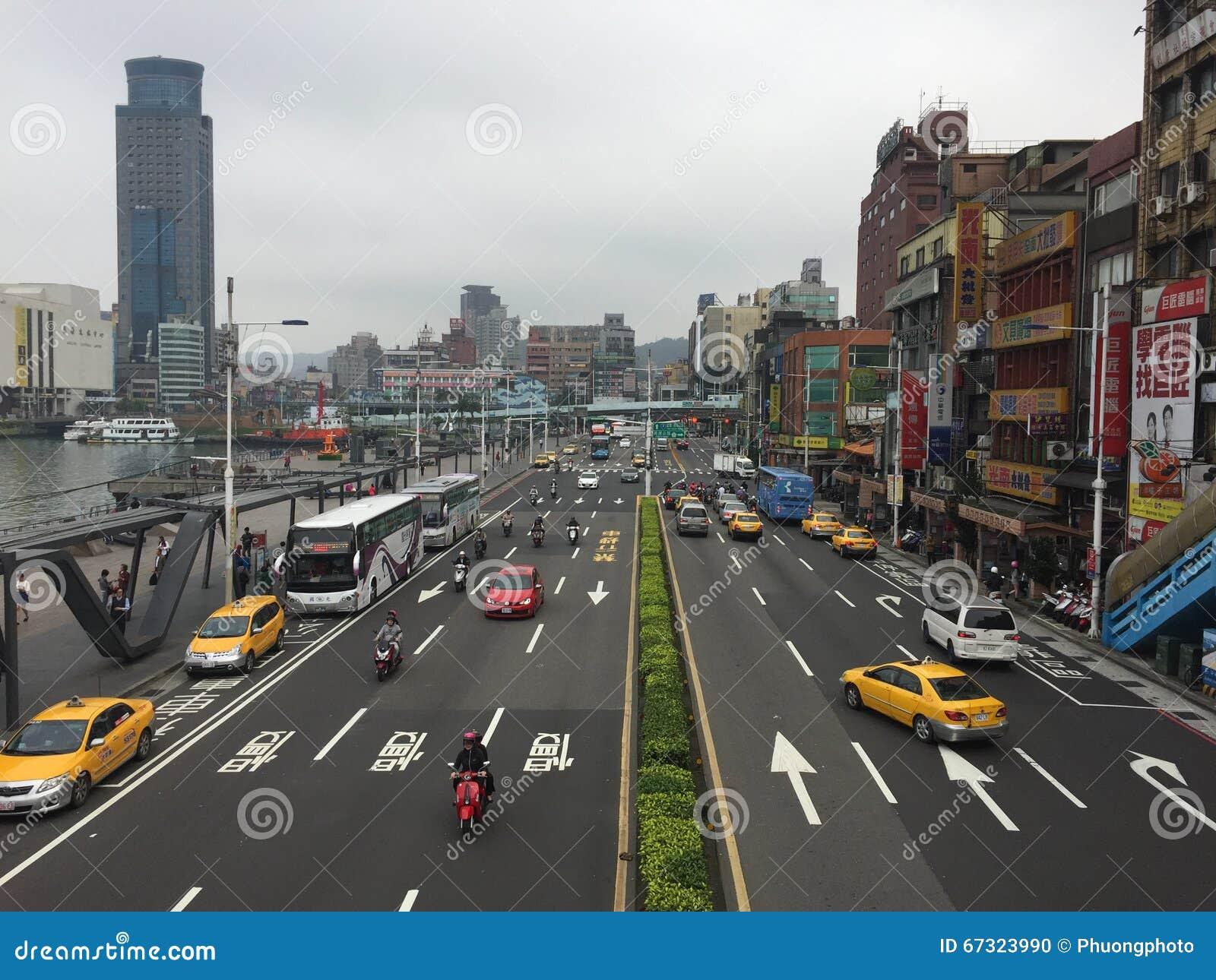 Opinión de la calle en la ciudad de Keelung