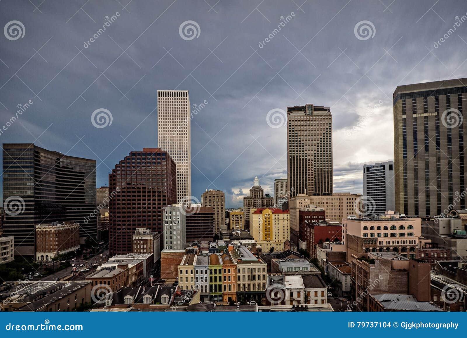 Opinión de la ciudad del CBD en New Orleans 1