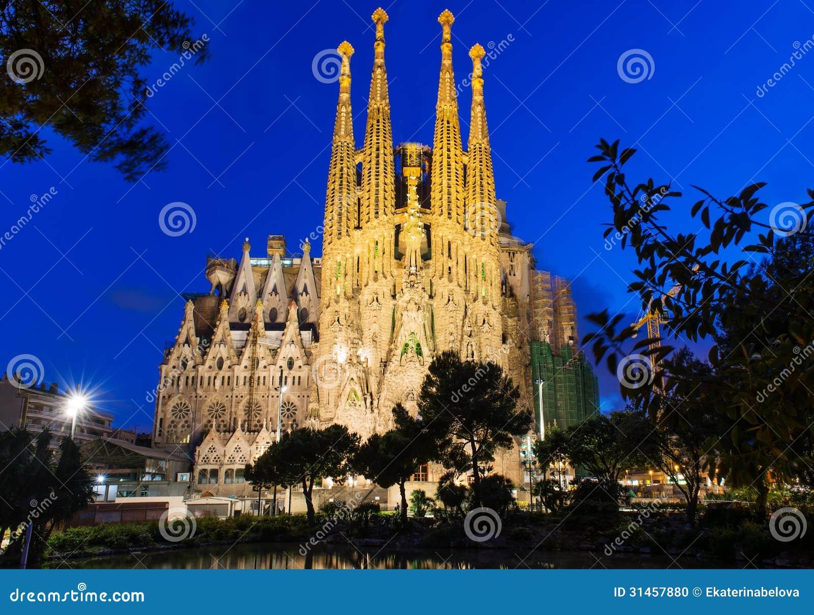 Opinión de la noche de Sagrada Familia en Barcelona