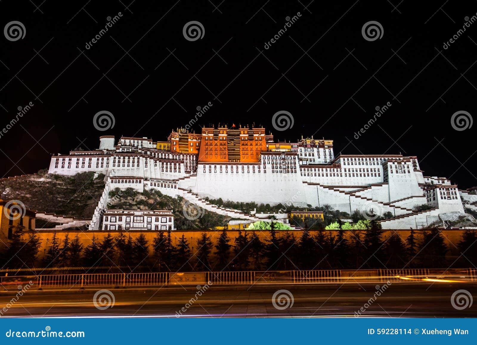 Download Opinión De La Noche Del Palacio Potala Foto de archivo - Imagen de audiencias, filosofía: 59228114