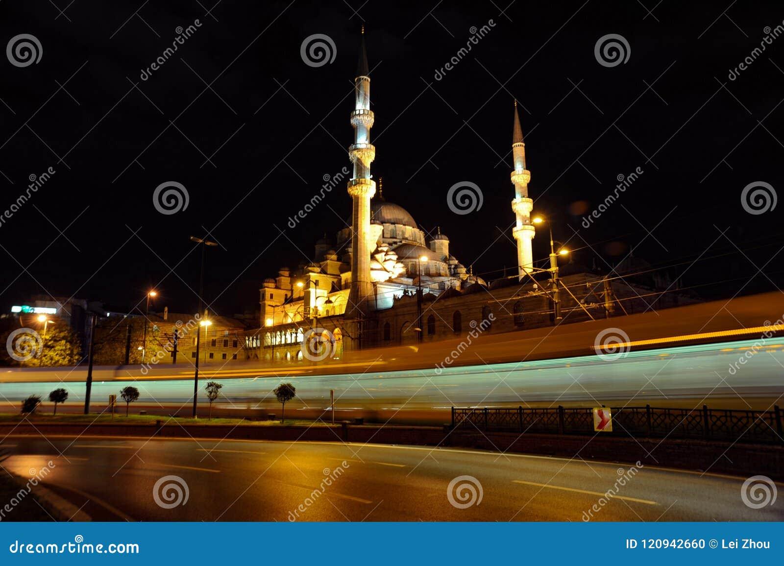 Opinión de la noche de la mezquita de Suleymaniye