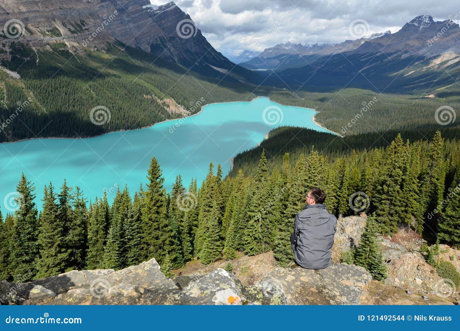 Opinión del lago Peyto