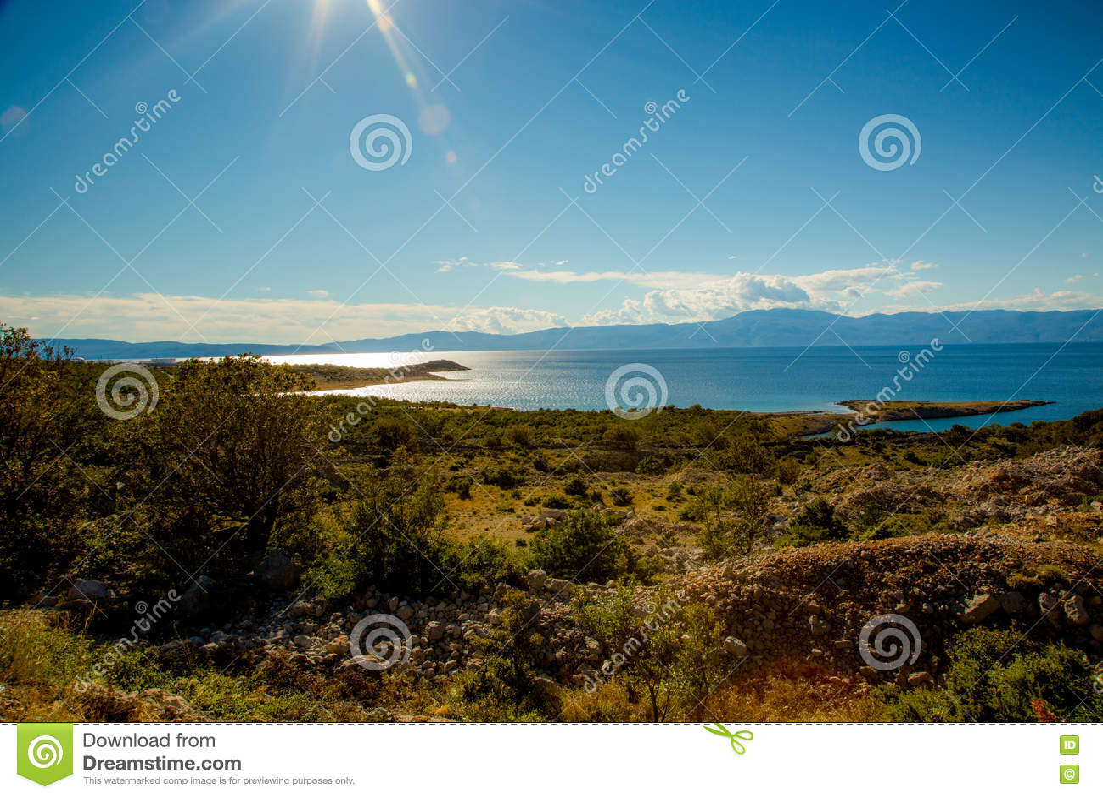 Opinión del mar, Croacia