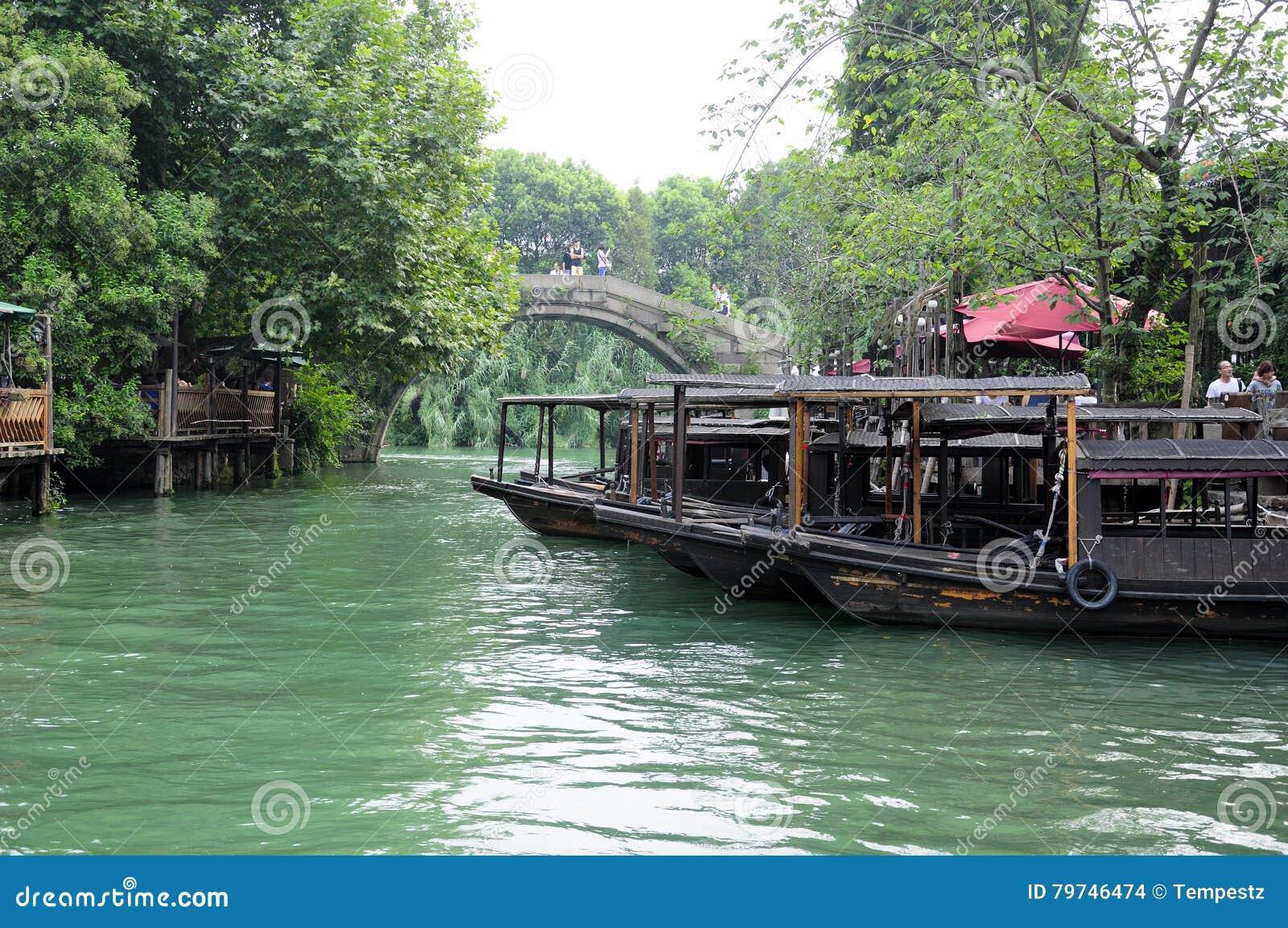 Opinión del oeste China de Wuzhen