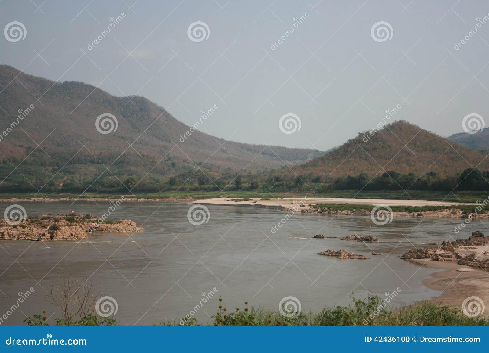 Opinión del río de Khong