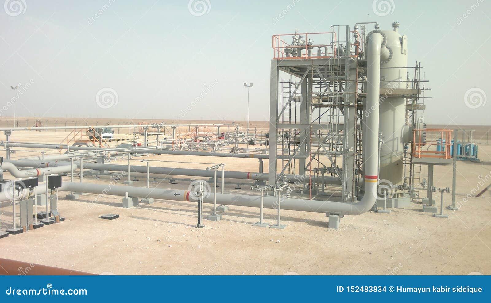 Opinión Omán de la planta de la construcción