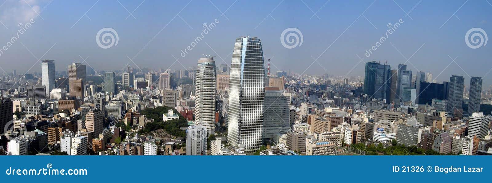 Opinión panorámica de Tokio